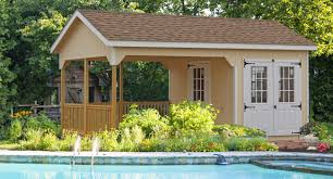amazing sheds with porches to add charm to your backyard