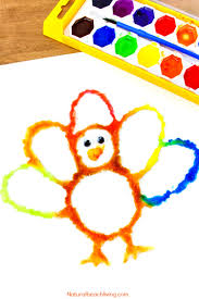 how to make the best thanksgiving turkey salt painting natural