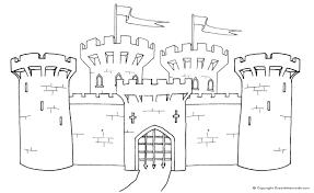 castle print color u2013 free printables