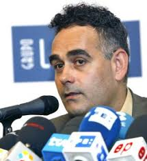 Juan Carlos Pastor mantiene el mismo bloque para los Juegos de Pekín. Juan Carlos Pastor, durante la rueda de prensa. / S. BARRENECHEA-EFE - 105878