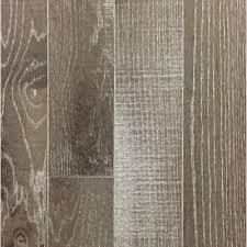 Desert Oak Brushed Dark Brown Prefinished Solid Hardwood Wood Flooring The Home Depot