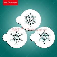 aliexpress com buy christmas small crystal snowflakes cookie