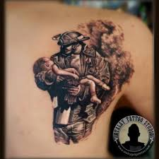 upper back awesome remembrance army men with baby tattoo golfian com