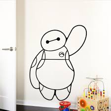 online get cheap christmas movies cartoon aliexpress com baymax of movie big hero 6 wall stickers for kids rooms baby kids toys home decals