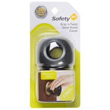 safety 1st secure grip clear door knob covers 3 pack childproofing