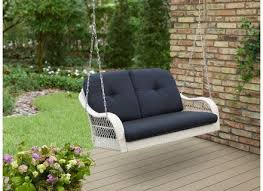 Patio Chair Swing Outsunny Rattan Patio Glider Rocking Chair Swing Seat Wicker