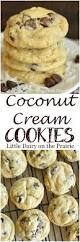 thanksgiving chocolate chip cookies coconut cream cookies little dairy on the prairie