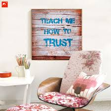 aliexpress com buy set of 4 slogan canvas painting encouraging