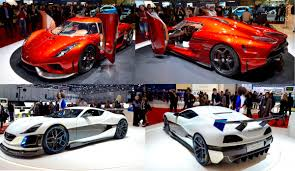 red koenigsegg regera geneva 2016 the electric rimac concept s and hybrid koenigsegg