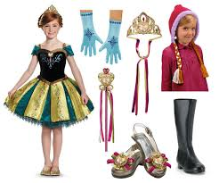 Anna Costume Make Your Own Magic With Princess Costumes Halloween Costume