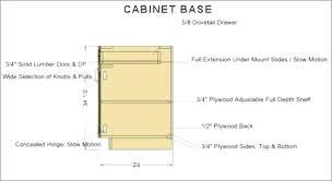 Kitchen Cabinet Standard Height Standard Height Of Kitchen Cabinet Base Kitchen Cabinets Interior