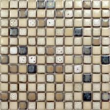 Kitchen Backsplash Stickers by Glazed Porcelain Mosaic Octagonal U0026 Dot Black And White Ceramic