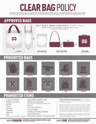 United Bag Policy by Mississippi State Athletics