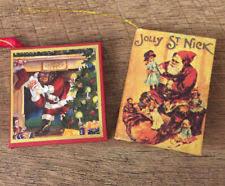 Christmas Book Ornaments - miniature christmas ornaments ebay