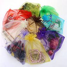 mesh gift bags 50x organza gift bags jewelry candy bag wedding favors bags mesh