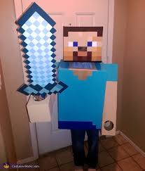 minecraft steve costume steve costume