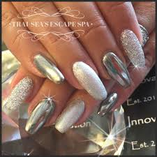 chrome glitter and metallic silver by trai sea u0027s escape spa