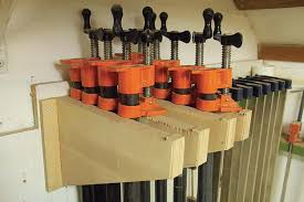 Wood Clamp Storage Rack Plans by Give Your Clamp Collection A Home