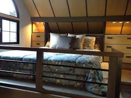 Loft Houses by A Sleeping Loft You Can Stand Up In Tiny House