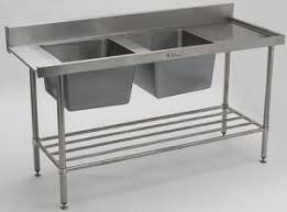Stainless Steel Bench With Sink Stainless Steel Benches Trolleys U0026 Equipment Practical Products