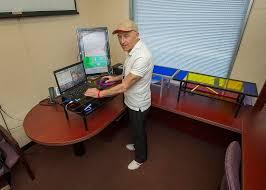 Desk Risers For Standing Desk Levitator A Minimalist Desk Riser Inspired By Modern Art