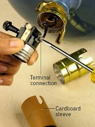 a guide on how to repair a lamp socket warisan lighting
