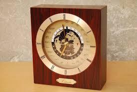 wood world citizen square wood world desk mantel clock i like mikes mid