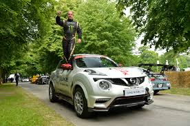 nissan juke limited edition watch a nissan juke nismo rs set a new record for driving on two