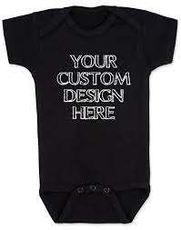 Customized Baby Make Your Own Custom Baby Onesie
