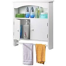 Wall Cabinet Bathroom Amazon Com Homfa Bathroom Wall Cabinet Multipurpose Kitchen