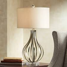 Gourd Table Lamp Hayden Silver Champagne Open Gourd Table Lamp 6r902 Lamps Plus