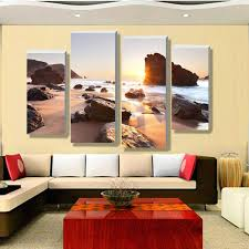Home Decor Stores Melbourne Wall Ideas Four Sets Of Contemporary Wall Art Canvas Print On