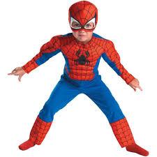 kids child toddler comic marvel spider man superhero muscle
