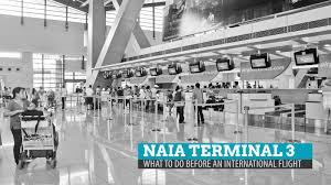 naia terminal 1 floor plan naia terminal 3 what to do before an international flight the