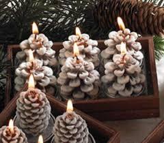 pine cone tea light holder pine cone tea light set kremp com