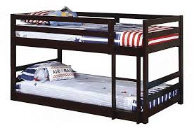 Bunk Bed For 3 Coaster 400302 Bunks Series Twin Size Bunk Bed Appliances Connection