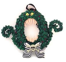 the nightmare before christmas home decor amazon com disney park nightmare before christmas scary wreath