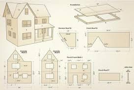 doll houses building plans house plans