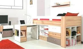 lit mezzanine avec bureau pas cher gain de place chambre enfant fantaisie lit mezzanine avec bureau pas