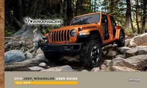 jeep wrangler forum 2018 wrangler jl owners manual and user guide leaked 2018 jeep
