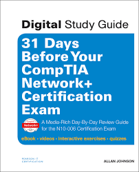 31 days before your comptia network certification exam