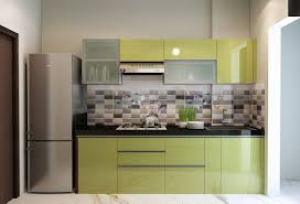 modern kitchen design ideas in india a simple minimal one wall kitchen cabinet design with