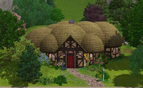 mod the sims lotr buckland hobbit home
