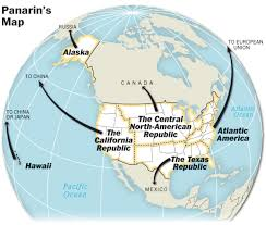 Map Of Alaska And Russia by Panarin U0027s Map Was A Prediction By A Russian Professor That The
