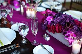 Purple Centerpieces Beautiful Purple Wedding Centerpieces Decor Wedding Party Decoration