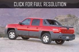 chevrolet avalanche 8 1 2003 auto images and specification