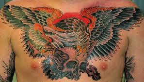 41 realistic eagle tattoos on chest