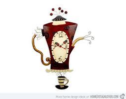 designer kitchen clocks 15 excellent designs of kitchen wall clocks home design lover