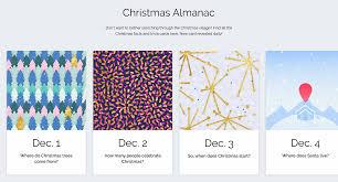 interactive advent web calendar on behance