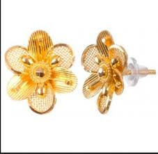 ch earrings top 148 ch gold earring at rs 12585 chafekar chowk pune